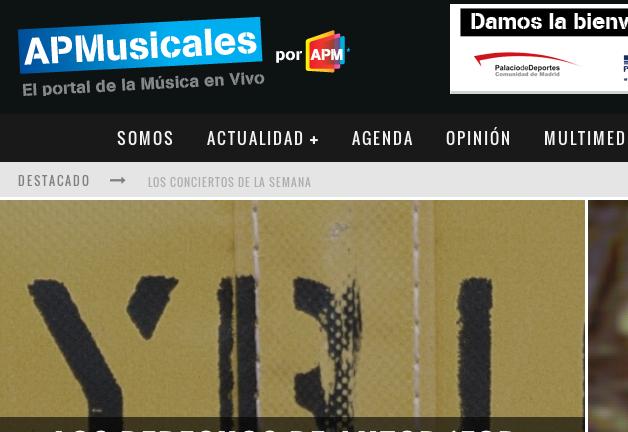 La APM lanza un nuevo portal de la música en vivo