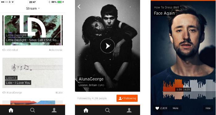 SoundCloud, estado de sus cuentas y su relación con las majors
