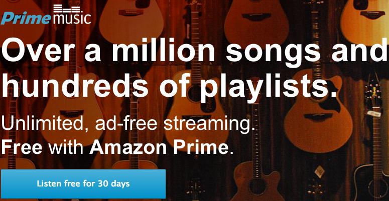 prime music amazon