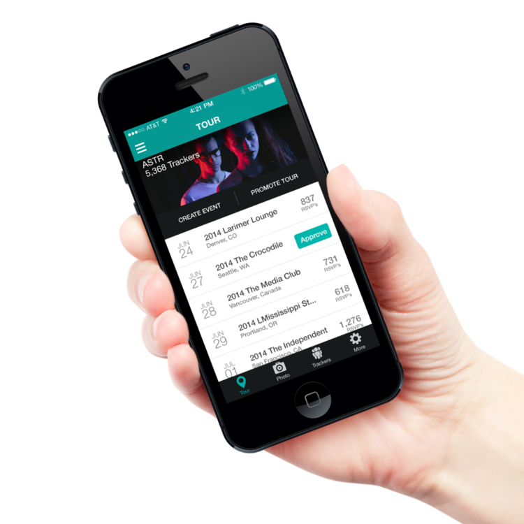 Bandsintown supera los 15 millones de usuarios y las 250.000 artistas registrados