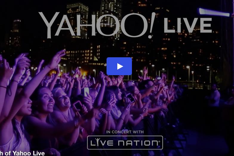 Live Nation y Yahoo confirman los primeros grupos que retransmitirán en directo