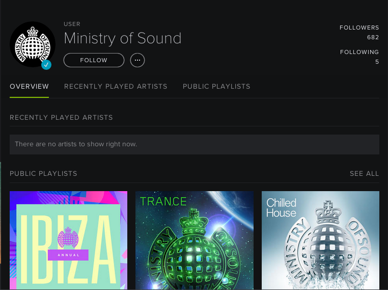 Ministry of Sound llega a Spotify