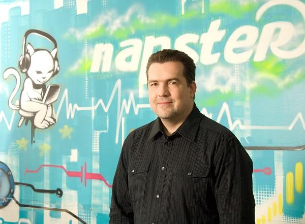 Opiniones del VP de Napster Europa sobre los servicios streaming, los sellos y YouTube