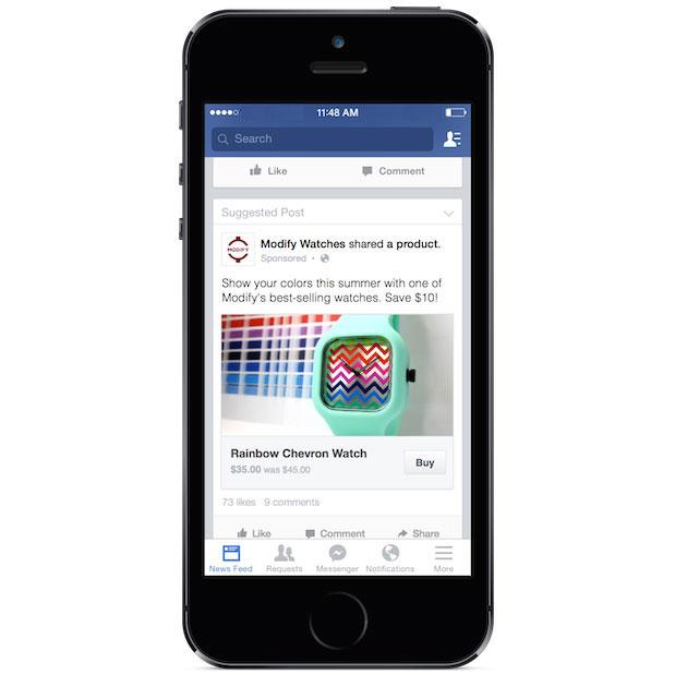 El botón comprar de Facebook y lo que significa la industria de la música