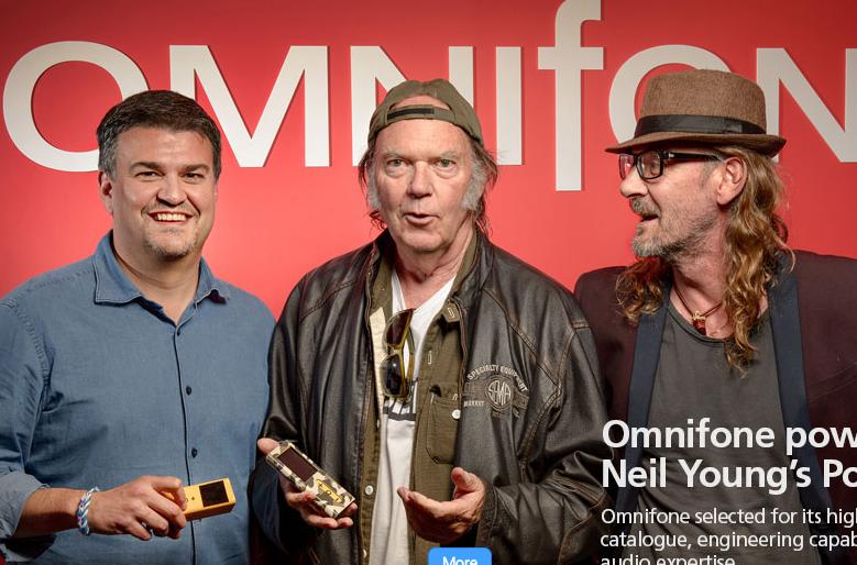 Omnifone estará detrás de la tienda de Pono Music