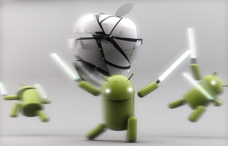 Android supera por primera vez el tráfico mundial de iOS