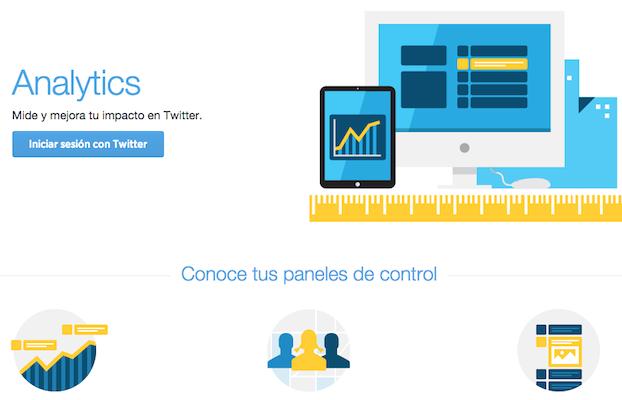Twitter Analytics disponible para todos los usuarios