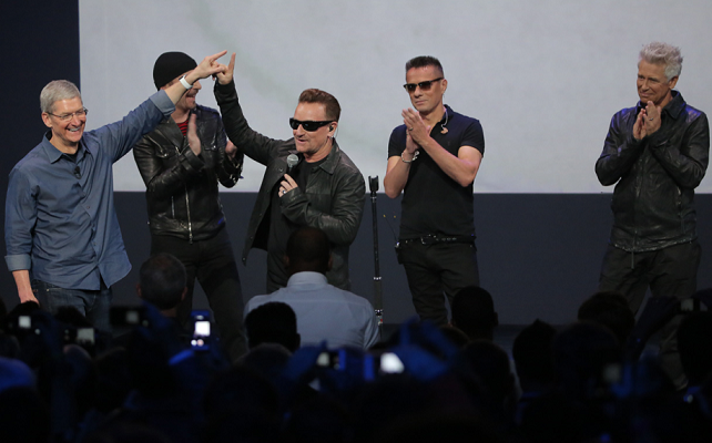 """Apple y U2 ya trabajan en el nuevo proyecto del álbum """"Songs of Experience"""""""