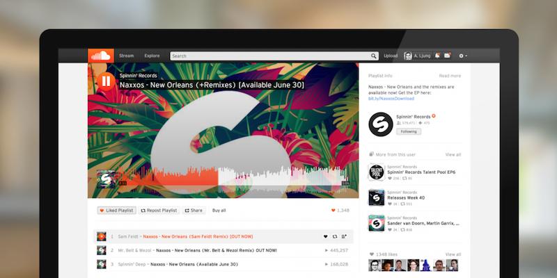 Spotify en conversaciones avanzadas para adquirir SoundCloud