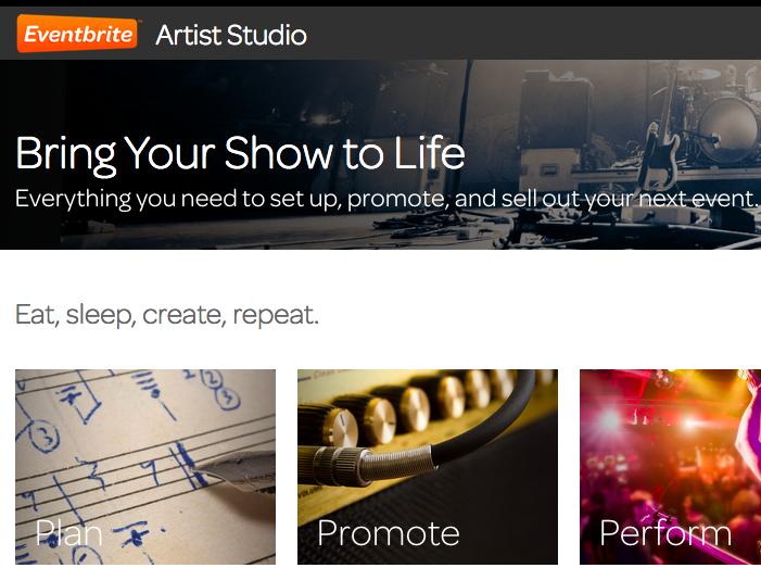Eventbrite lanza el portal de ayuda Artist Studio