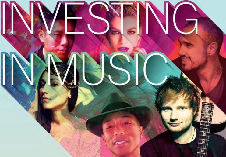 Las compañías discográficas invirtieron 4.300$ millones en artistas en 2013
