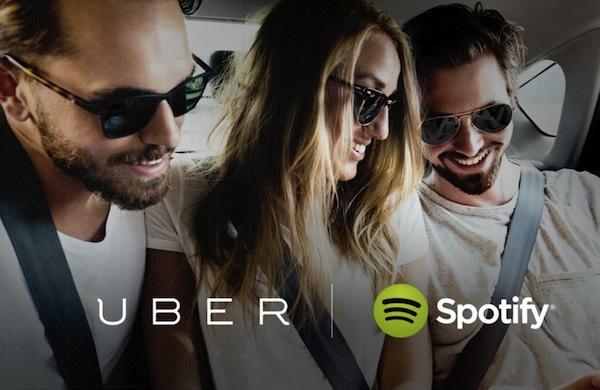 Spotify llega de manera oficial a Uber