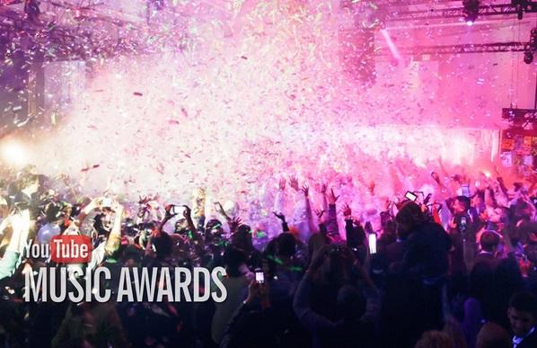 En 2015 vuelven los YouTube Music Awards en nuevo formato