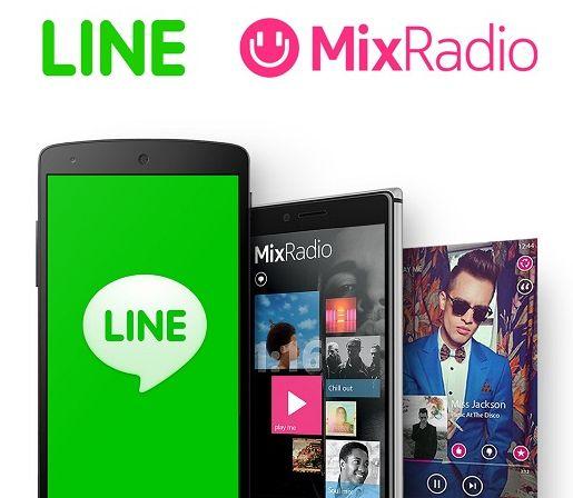 Line compra el servicio de streaming de música MixRadio