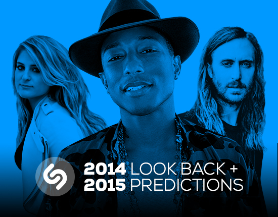 Lo más «Shazameado» de 2014 y las predicciones del 2015