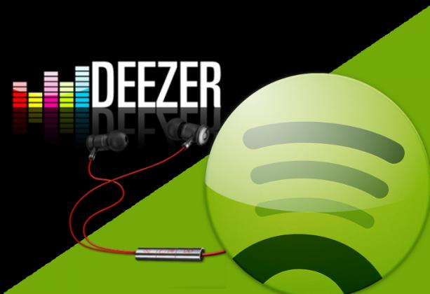 Deezer vs Spotify en base a ritmos de tráfico web