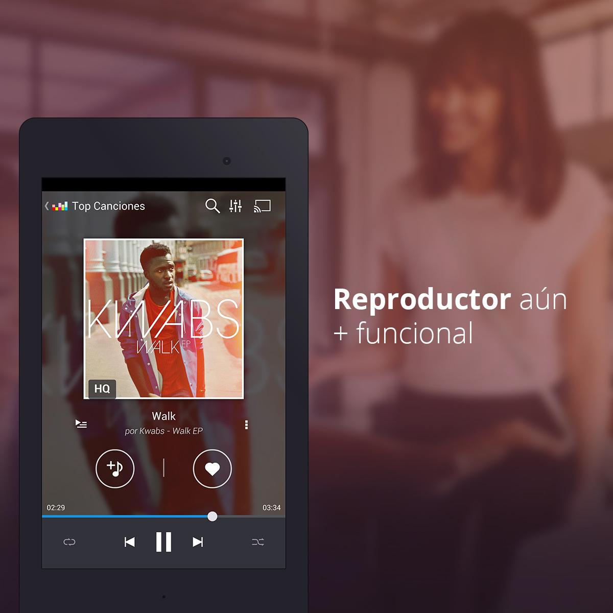 Deezer renueva su interfaz app con un diseño más limpio y elegante