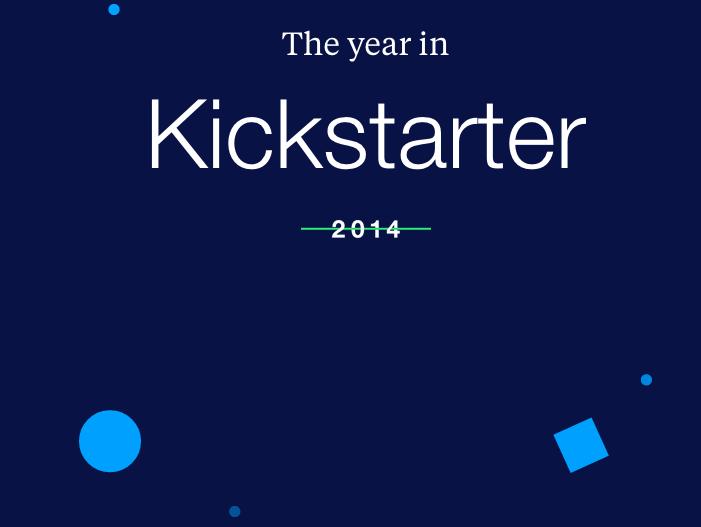 La música domina en Kickstarter en 2014