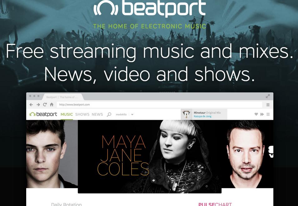 Beatport ya está lanzando su servicio de streaming