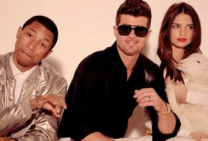 Robin Thicke Pharrell Williams Blurred Lines