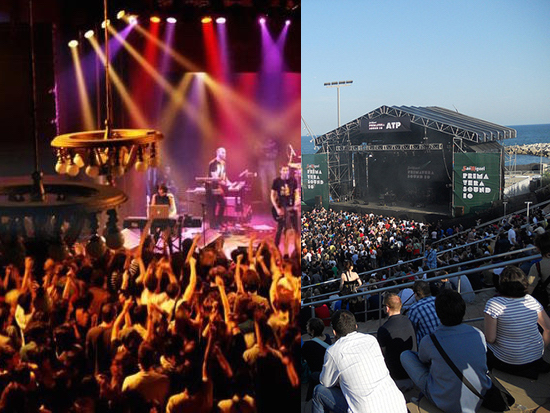 escena vs festival