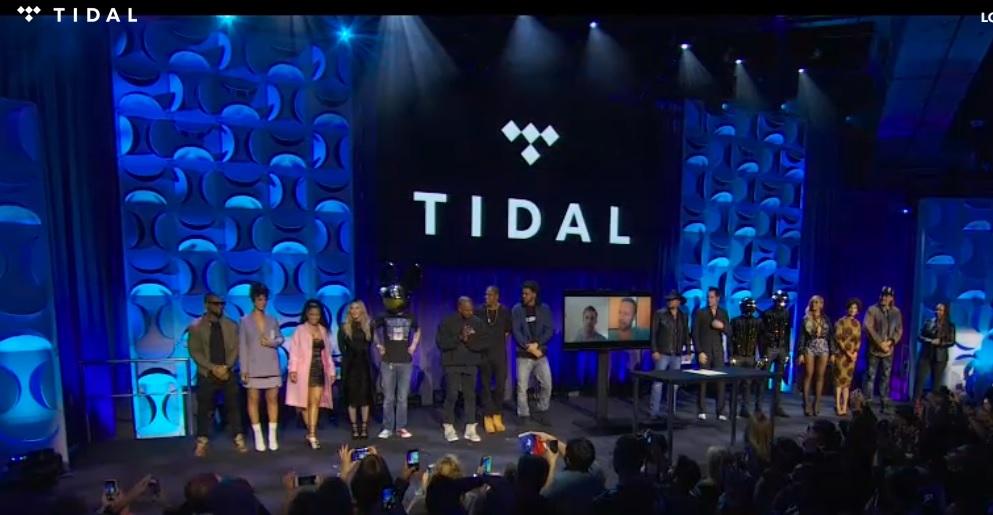 TIDAL la primera plataforma de streaming manejada por artistas
