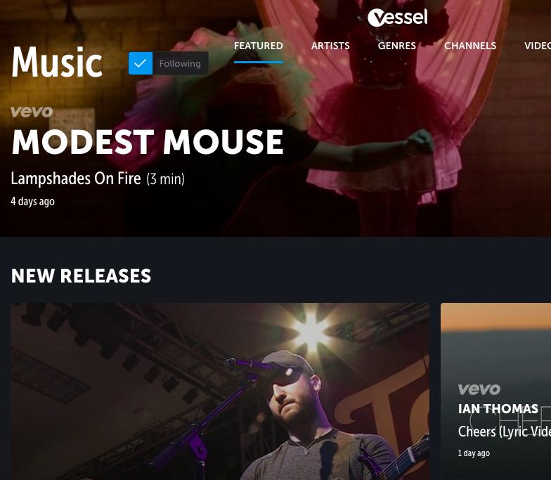 Vessel, un nuevo servicio de vídeo en streaming, es lanzado oficialmente