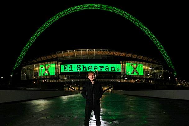 Ed Sheeran alcanza las 2 mil millones de escuchas en Spotify
