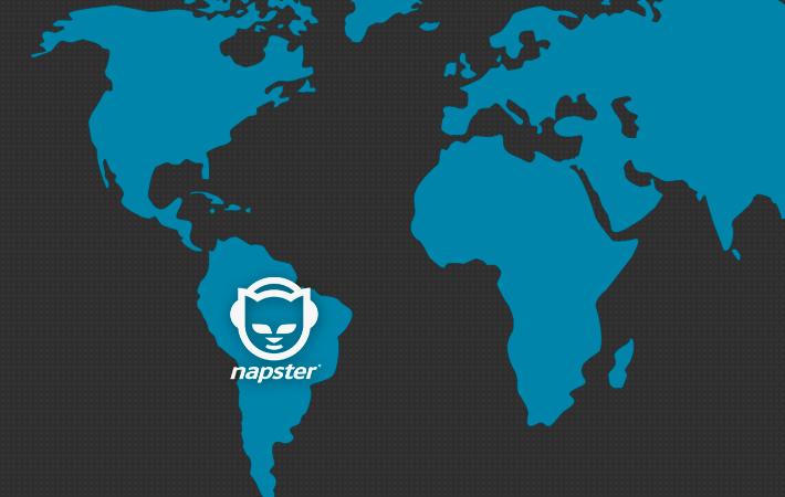 Napster continúa su expansión latinoamericana de la mano de Telefónica