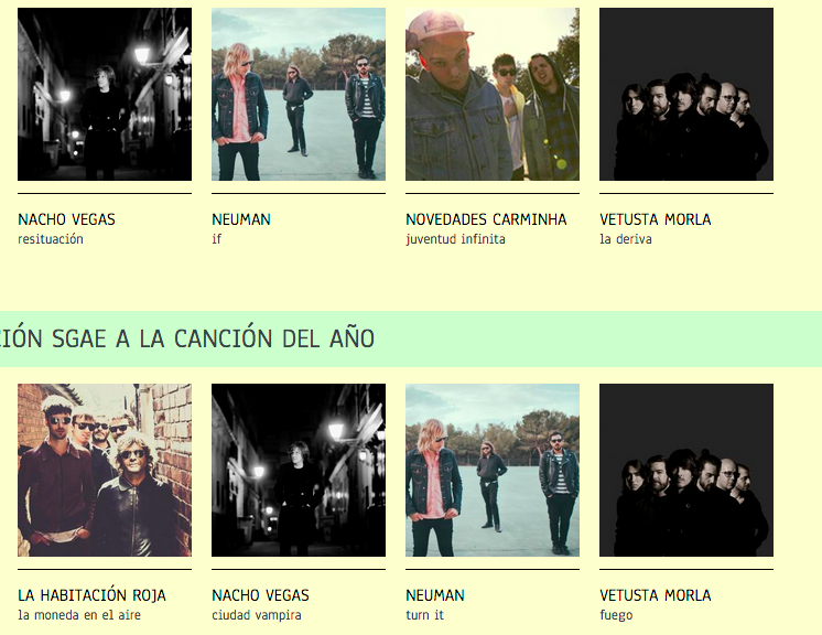 Los Premios de la Música Independiente pasan a votación popular