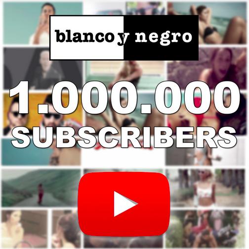 Blanco y Negro la primera discográfica de España en llegar al millón de seguidores en Youtube