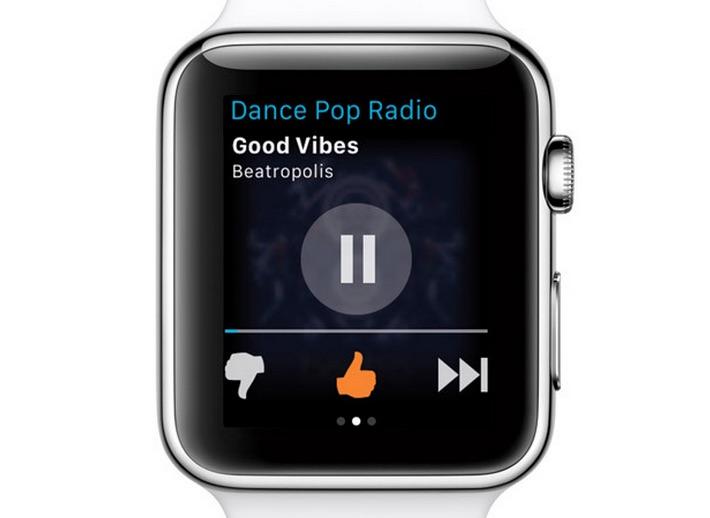 Pandora estrena su aplicación para el Apple Watch