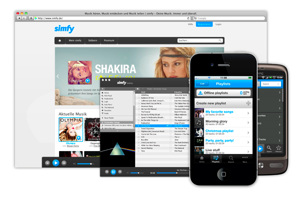 Simfy se suma a la lista de servicios de streaming que cierra
