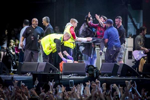 Cuánto le podría costar a Foo Fighters la lesión de Dave Grohl
