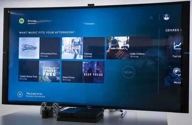 Spotify bate récords y alcanza las 5 millones de descargas en PlayStation