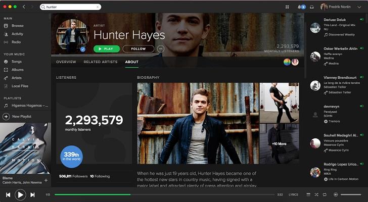 Spotify presenta su nueva funcionalidad para que no te pierdas ningún concierto