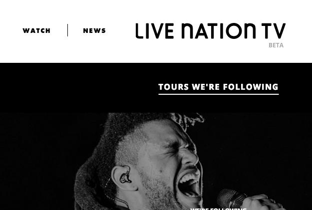 Live Nation y Vice lanzan Live Nation TV