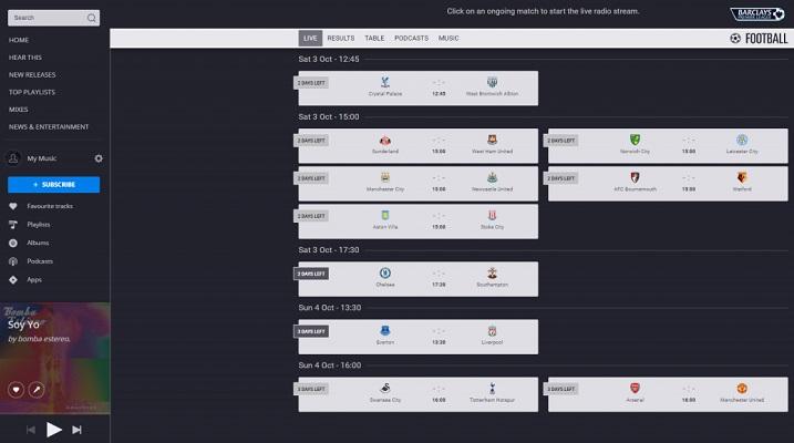 Nace Deezer Fútbol para presentar su contenido junto a millones de canciones