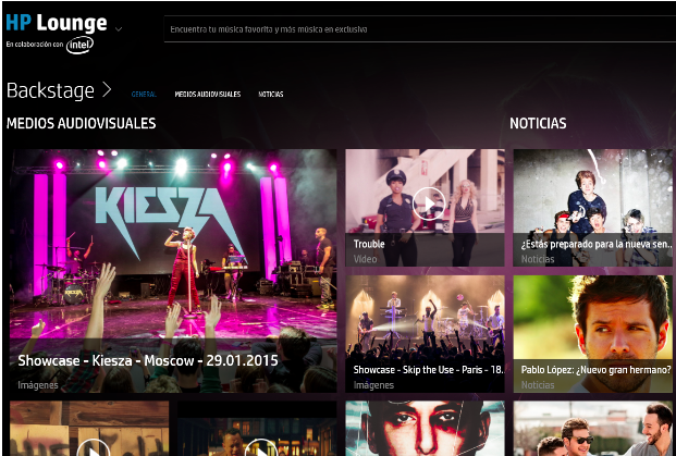 Universal y HP lanzan la plataforma musical HP Lounge