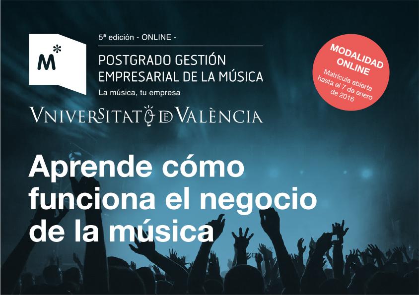 musica universidad master