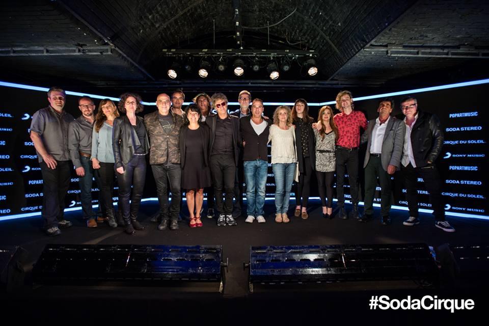 Cirque du Soleil, Soda Stereo, PopArt Music y Sony Music avanzan en la producción de Soda Cirque
