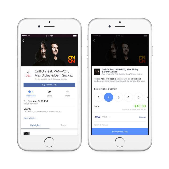 Ticketmaster iniciará en breve la venta de entradas directas a través de Facebook