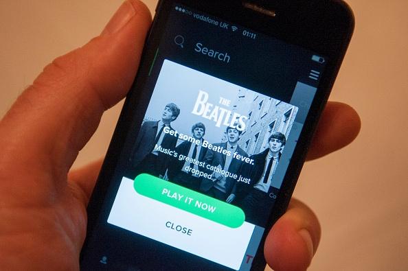 Spotify revela las estadísticas de escucha de Los Beatles tras el primer mes en la plataforma