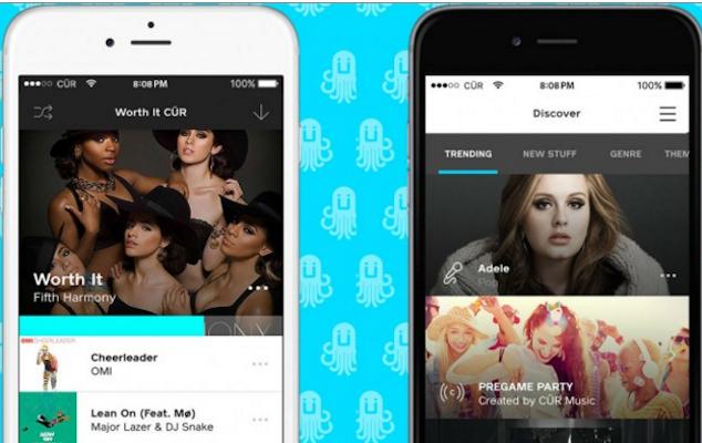 CÜR Music, el nuevo servicio de streaming con licencias de las majors