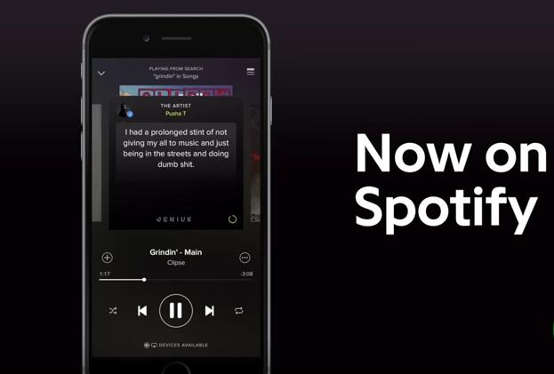 Spotify se alía con Genius para mostrar la historia de cada canción
