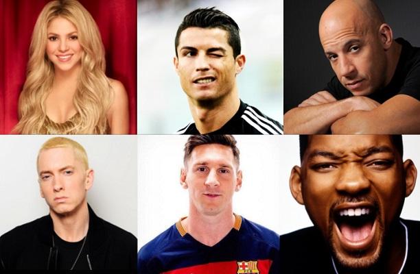 Comparativa de las estrellas de la música, el deporte y el cine ¿Quiénes tienen mayor alcance en Facebook?