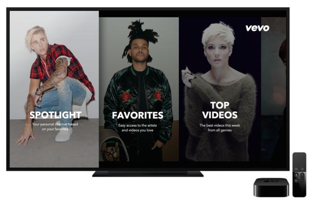 Vevo lanza nueva aplicación para Android y Apple TV