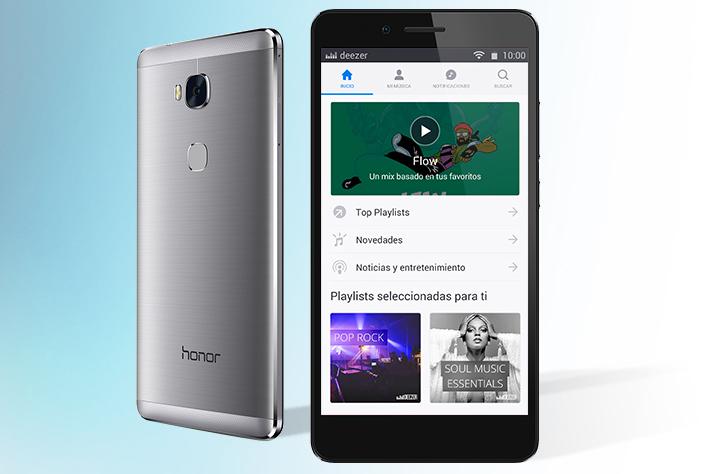 Deezer y Huawei anuncian su primera colaboración mundial de música en streaming