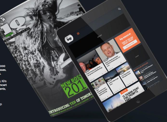 IQ Magazine lanza su versión online e invita a IndustriaMusical.es a colaborar en contenido de los mercados hispanos