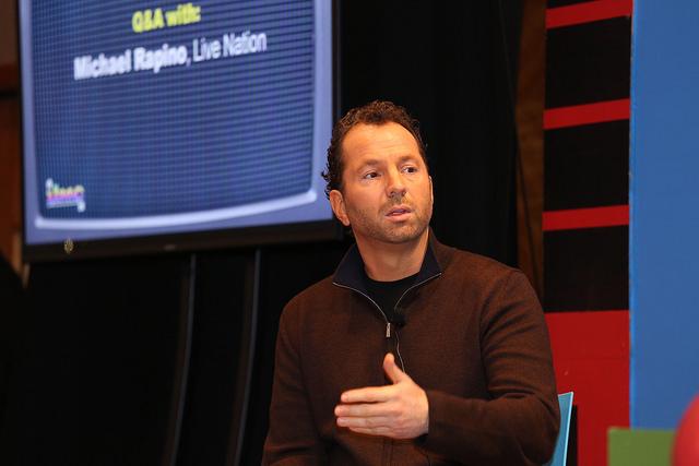 Michael Rapino de Live Nation habla sobre las plataformas de reventa